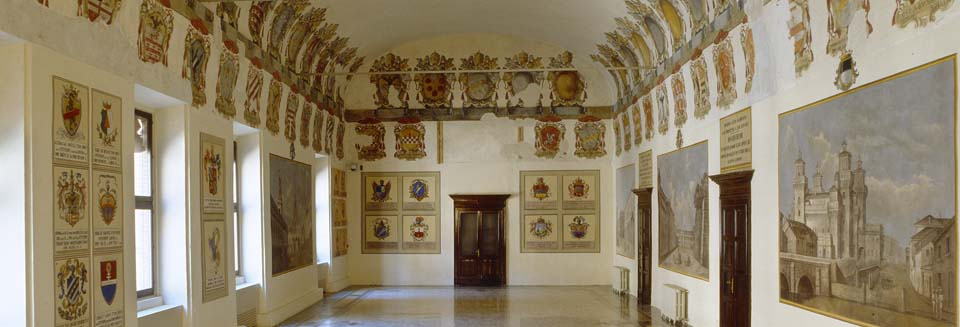 The coats of arms room