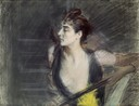 G. Boldini, Mrs X, Helleu's sister-in-law, c. 1886-1890