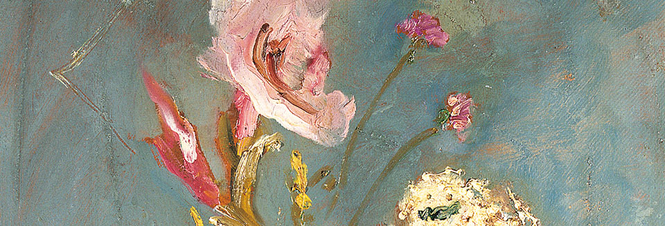 Gladiolus struck by lightning, 1930