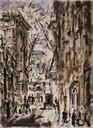 F. De Pisis, Strada di Parigi, 1938