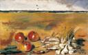F. De Pisis, Natura morta con agli, 1930