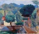 A. Funi, Paesaggio, 1930