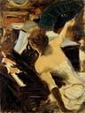 G. Boldini, La cantante mondana, c. 1884