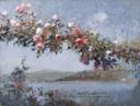 G. Mentessi, Paesaggio del Lago di Como, 1918