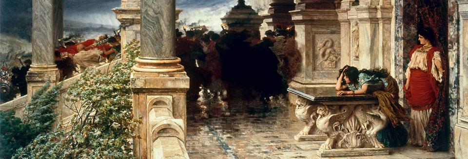 I funerali di Britannico, 1888