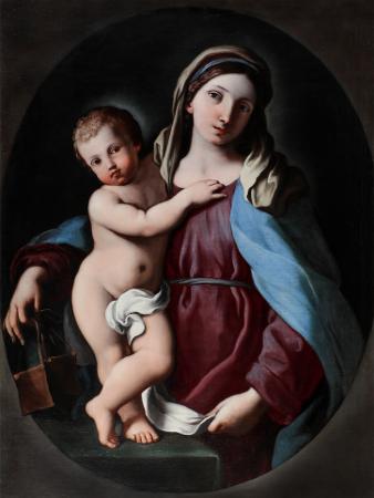 Madonna con il bambino di Gian Domenico Cerrini detto il Cavalier Perugino