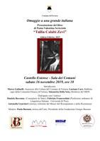 """Presentazione del libro di Puma Valentina Scricciolo """"Tullia Calabi Zevi"""""""
