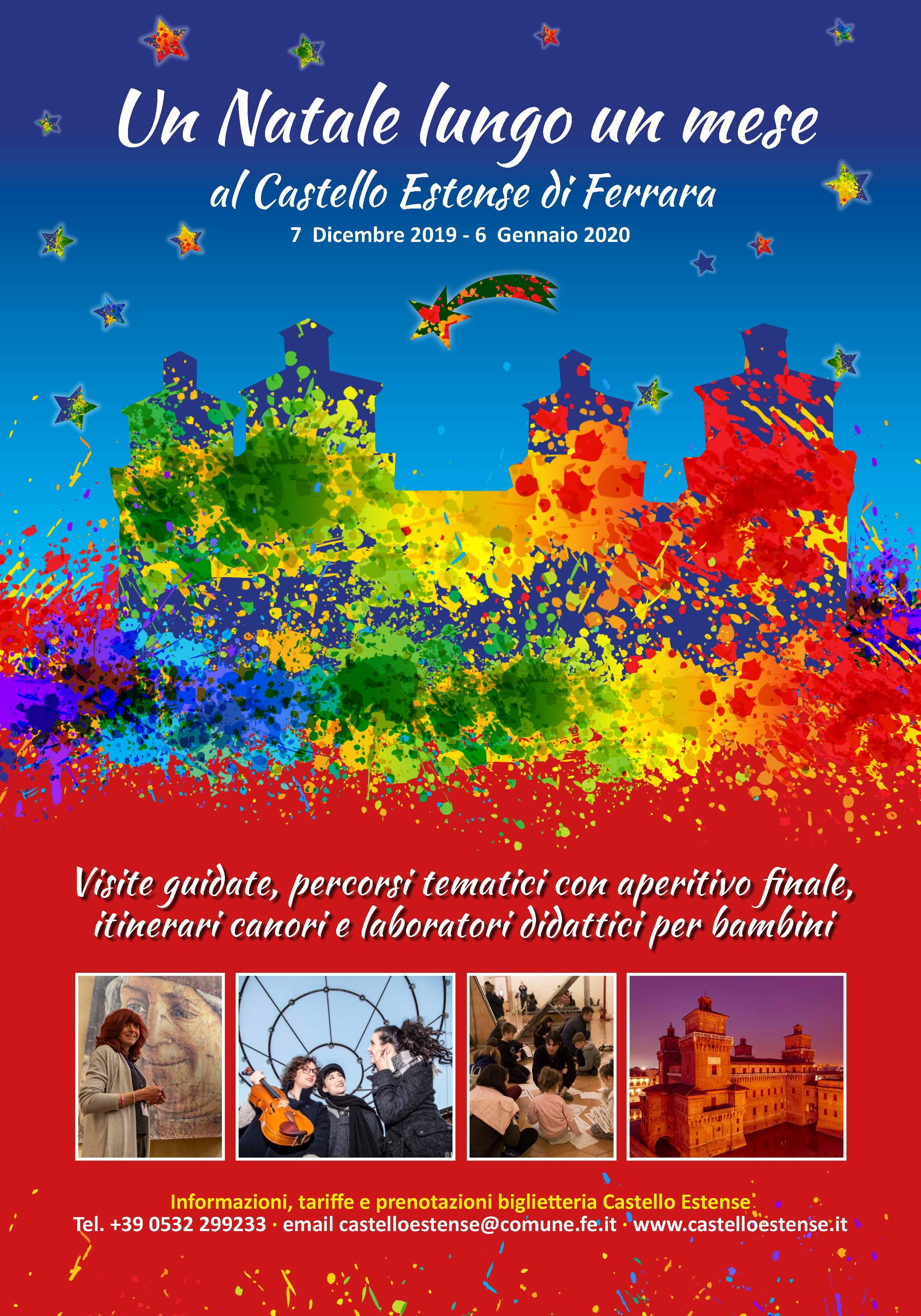 Un Natale lungo un mese al Castello Estense